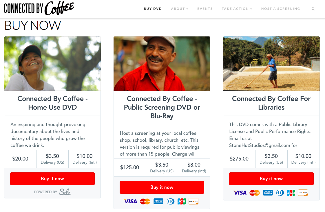 connected by coffee documentary